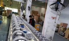 production line of Side Channel Blower